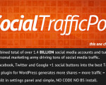 wordpress plugin for Social Traffic Pop 2012 PRO