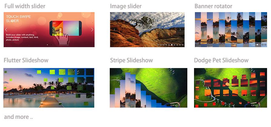 Responsive Media Slideshow - GIGA Slider Pro